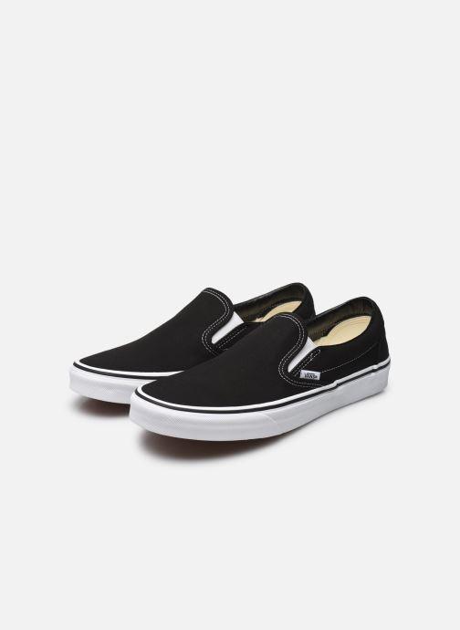 Sneaker Vans Classic Slip On W schwarz ansicht von unten / tasche getragen