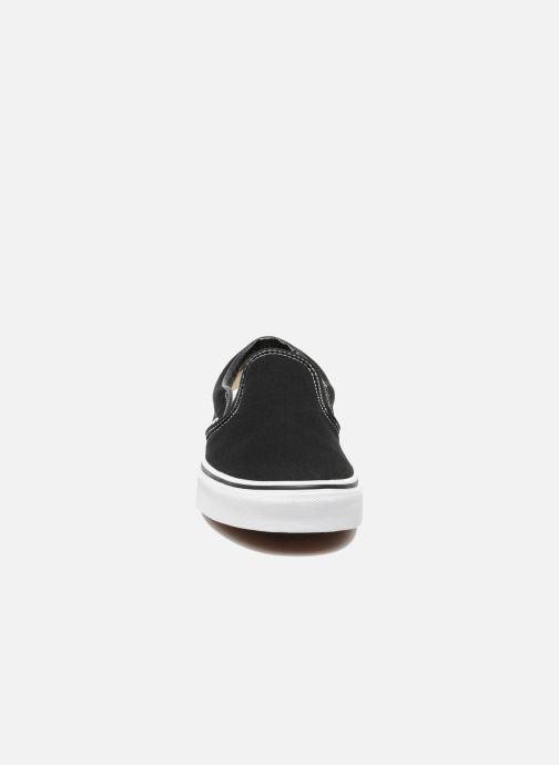 Sneaker Vans Classic Slip On W schwarz schuhe getragen