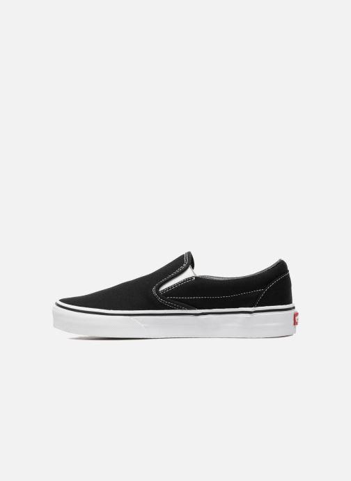 Sneaker Vans Classic Slip On W schwarz ansicht von vorne