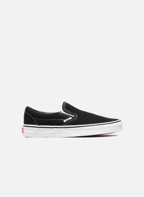 Sneaker Vans Classic Slip On W schwarz ansicht von hinten