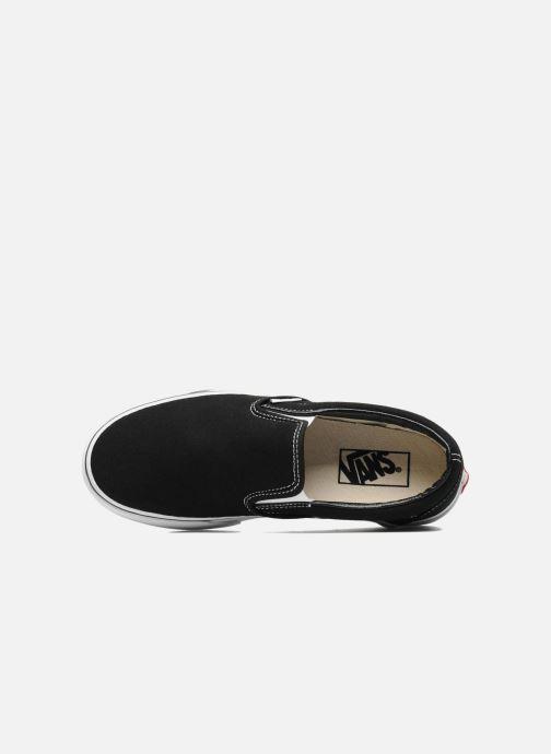 Sneaker Vans Classic Slip On W schwarz ansicht von links