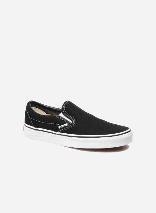Sneaker Vans Classic Slip On W schwarz detaillierte ansicht/modell