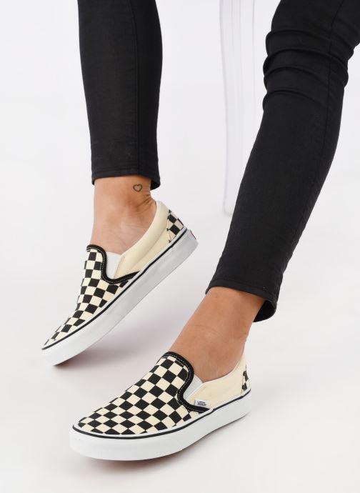 Sneaker Vans Classic Slip On W mehrfarbig ansicht von unten / tasche getragen