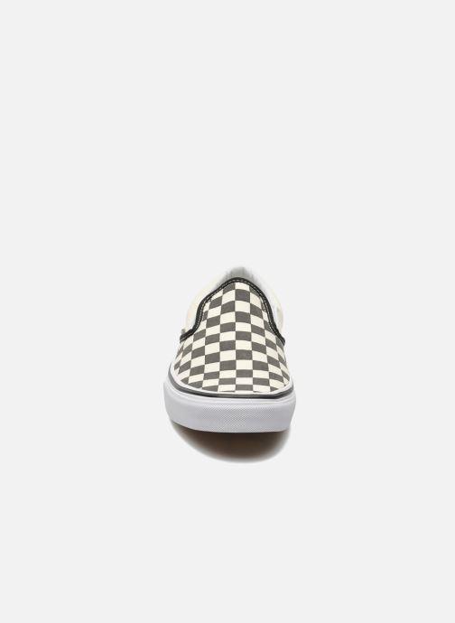 Slip WcheckerboardBlack White Baskets On Classic Vans PXTkuOiZ