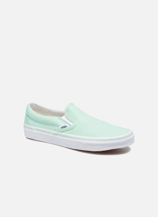 f7d7116c8fd Sneakers Vans Classic Slip On W Grøn detaljeret billede af skoene