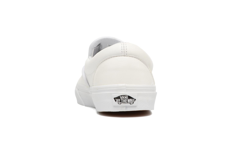 Baskets Vans Classic Slip On W Blanc vue droite