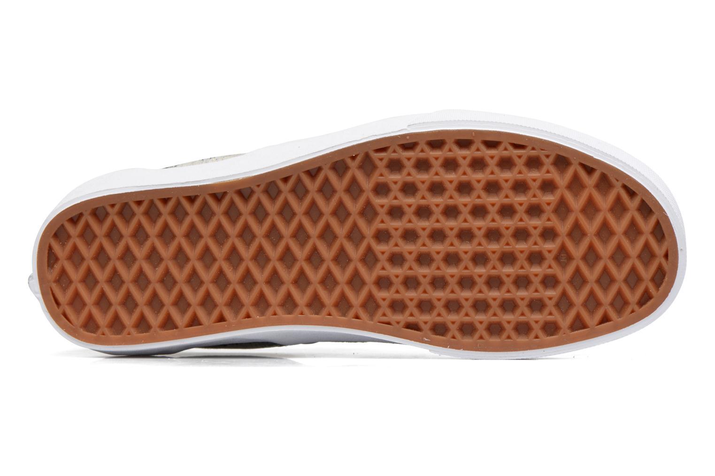 Baskets Vans Classic Slip On W Blanc vue haut
