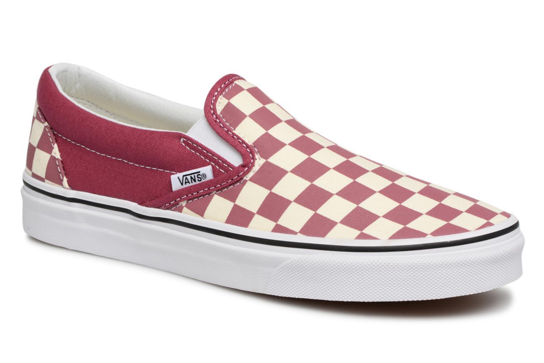 Vans Classic Slip On W (Rose) - Baskets en Más cómodo Les chaussures les plus populaires pour les hommes et les femmes