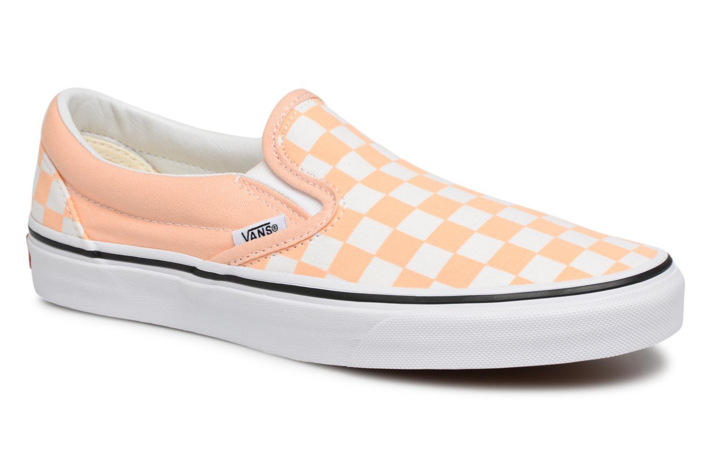 Vans Classic Slip On W (Orange) - Baskets en Más cómodo Nouvelles chaussures pour hommes et femmes, remise limitée dans le temps