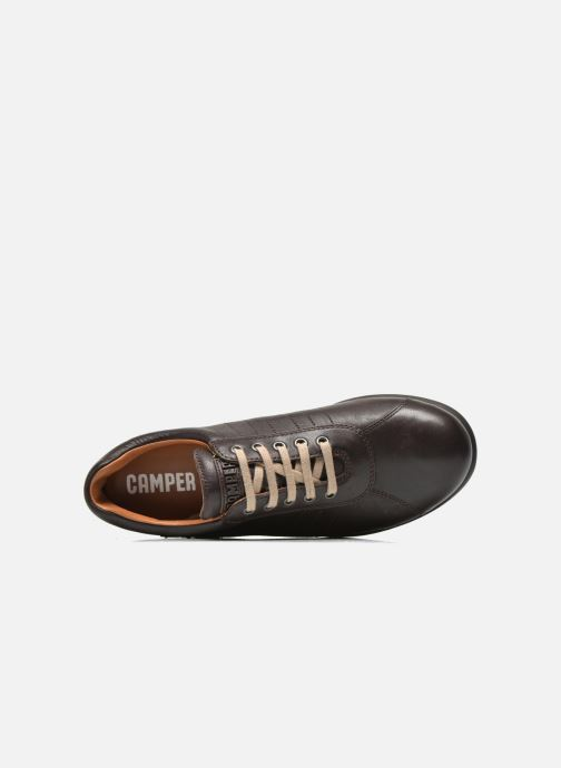 Trainers Camper Pelotas Ariel 16002 Brown view from the left