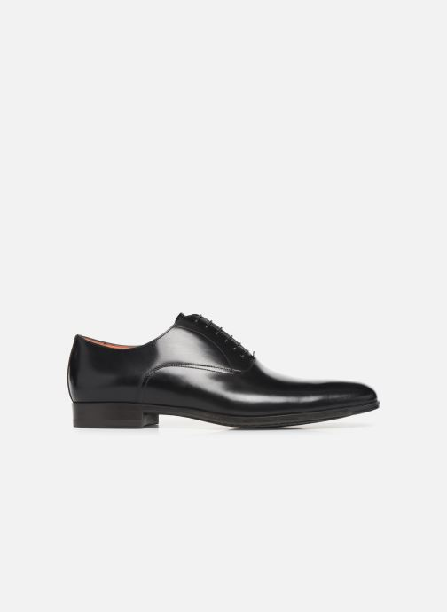 Zapatos con cordones Santoni William 7413 Negro vistra trasera