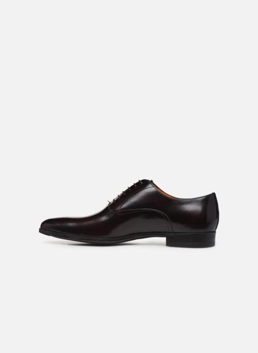 Chaussures à lacets Santoni William 7413 Bordeaux vue face