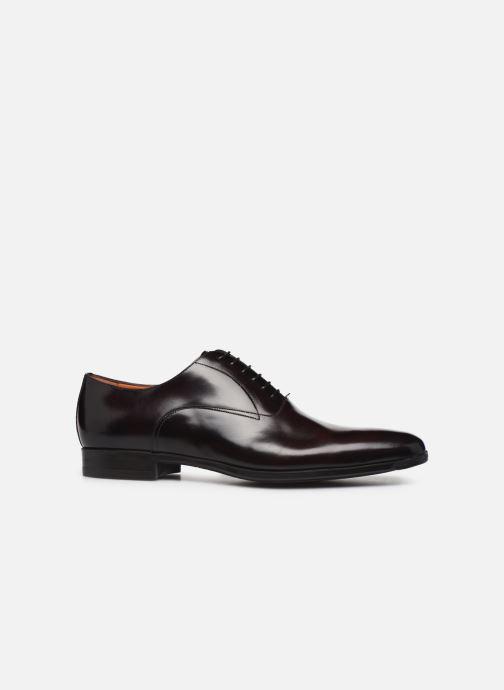 Chaussures à lacets Santoni William 7413 Bordeaux vue derrière