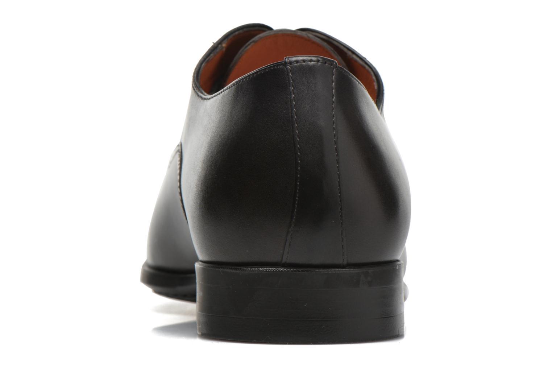 Chaussures à lacets Santoni William 7413 Gris vue droite