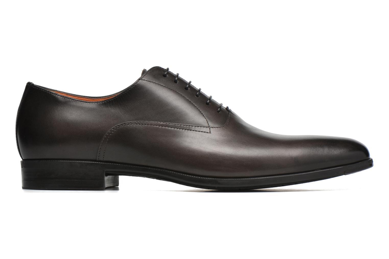 Chaussures à lacets Santoni William 7413 Gris vue derrière