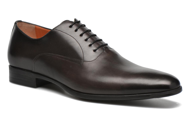 Chaussures à lacets Santoni William 7413 Gris vue détail/paire