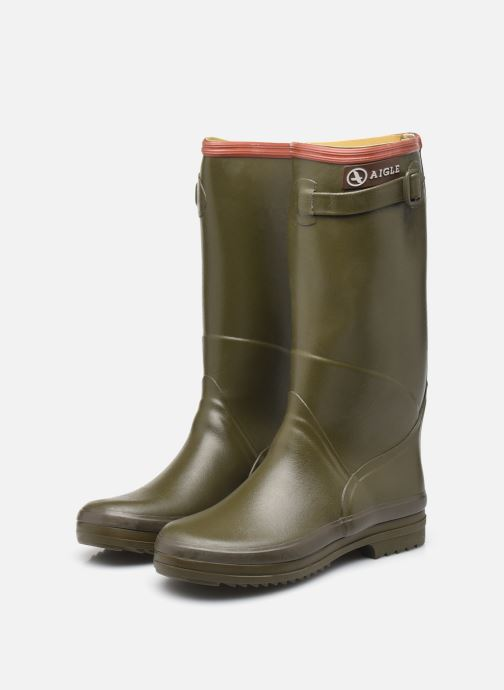 Boots & wellies Aigle Chantebelle Green view from underneath / model view