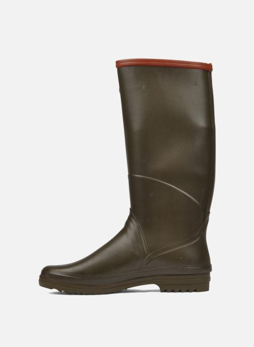 Boots & wellies Aigle Chantebelle Green front view