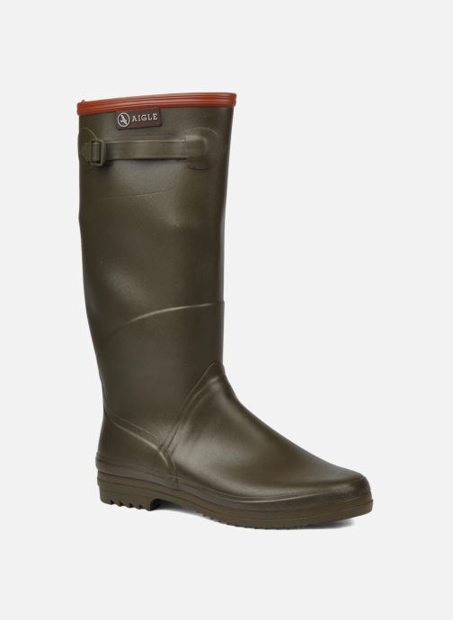 Boots & wellies Aigle Chantebelle Green detailed view/ Pair view
