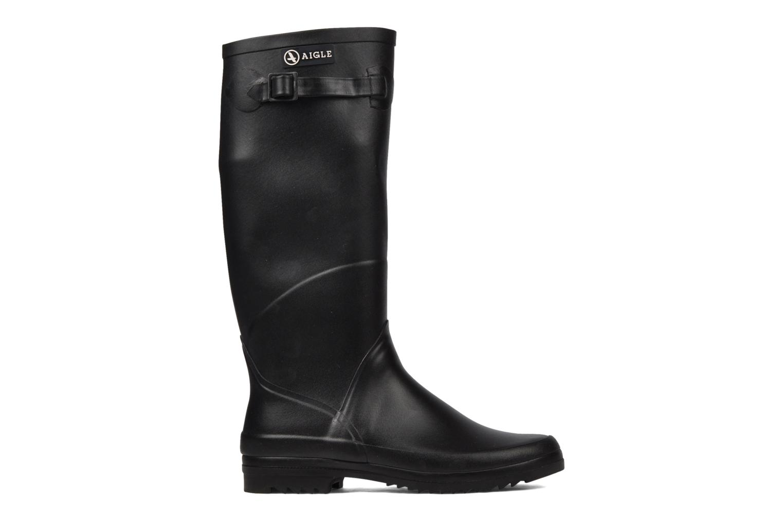 Boots & wellies Aigle Chantebelle Black back view