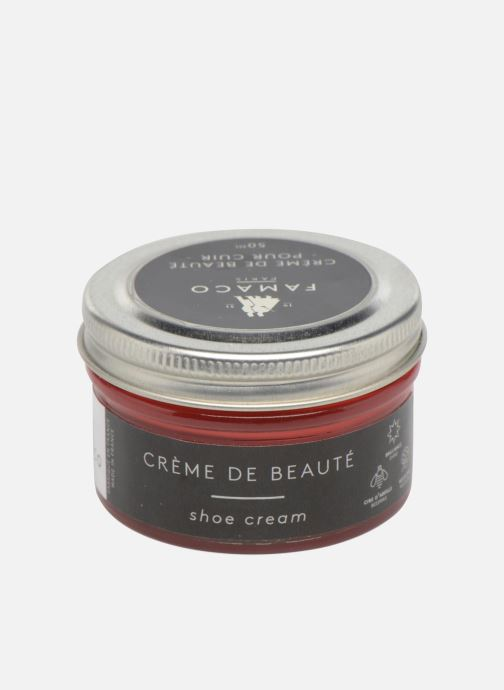 Care products Famaco Leather cream 50ml Red model view