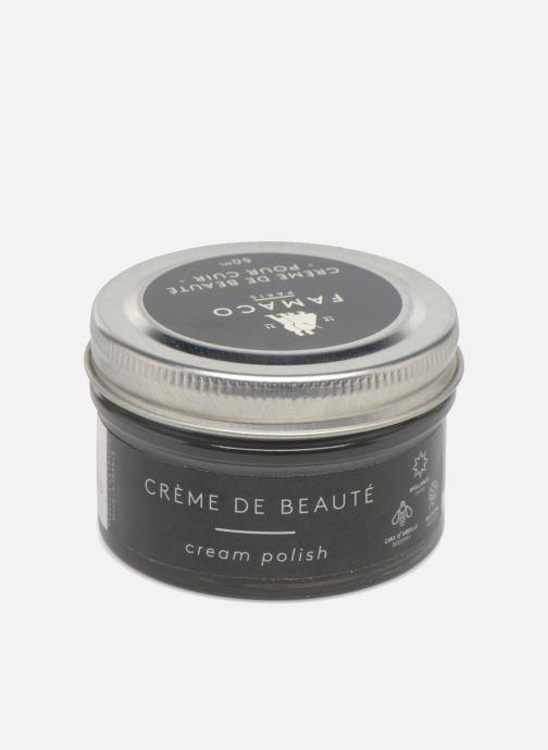 Produits d'entretien Famaco Cirage crème de beauté cuir 50 Ml Gris vue portées chaussures