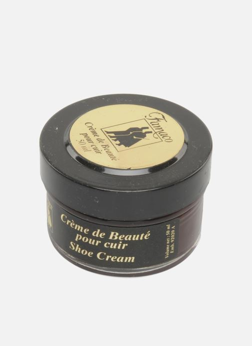 Care products Famaco Leather cream 50ml Burgundy view from above