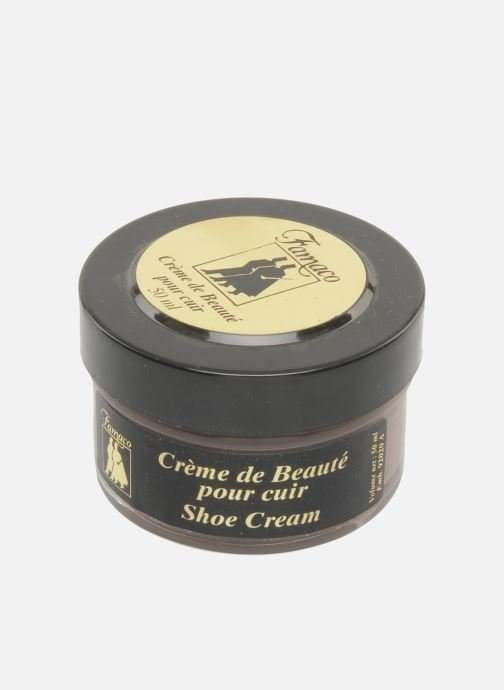 Care products Famaco Leather cream 50ml Brown view from above