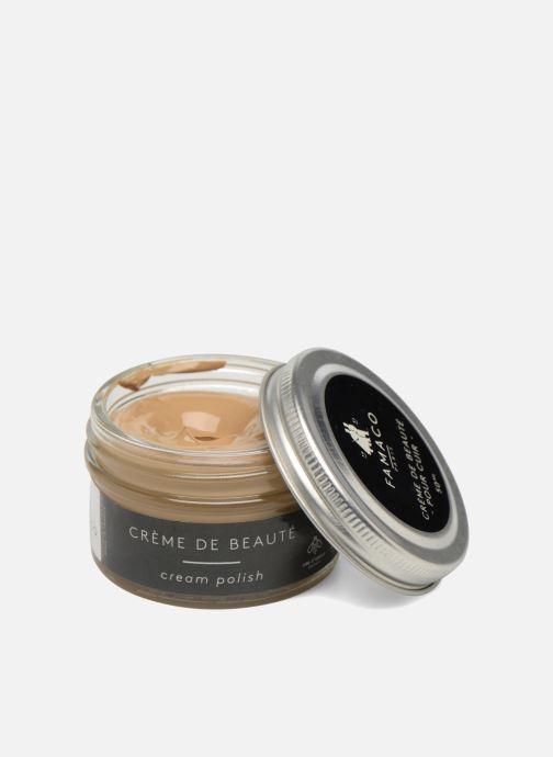 Produits d'entretien Famaco Cirage crème de beauté cuir 50 Ml Beige vue détail/paire