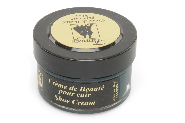 Produits d'entretien Famaco Cirage crème de beauté cuir 50 Ml Vert vue haut
