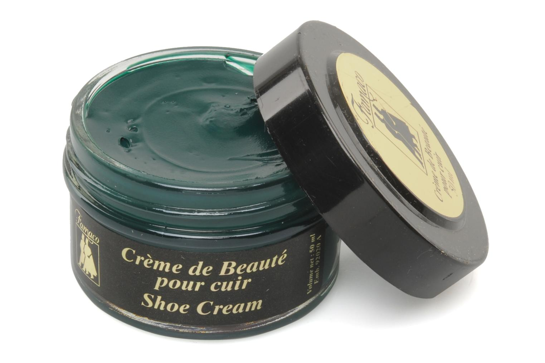 Produits d'entretien Famaco Cirage crème de beauté cuir 50 Ml Vert vue détail/paire