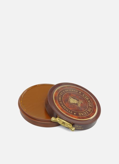 Care products Famaco Shoe polish-luxury ointment Brown detailed view/ Pair view