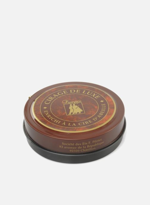Care products Famaco Shoe polish-luxury ointment Black view from above