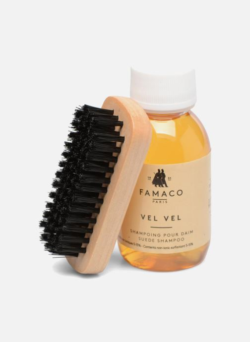 Onderhoudsproducten Famaco Vel Vel - Shampoo voor suède & nubuck Kleurloos links