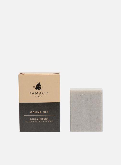 Plejeprodukter Famaco Magic ruskinds pletfjerner Farveløs detaljeret billede af skoene