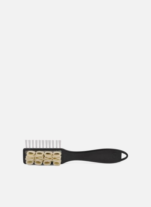 Care products Famaco Double suede shoes nubuck cleaning brush Black view from above