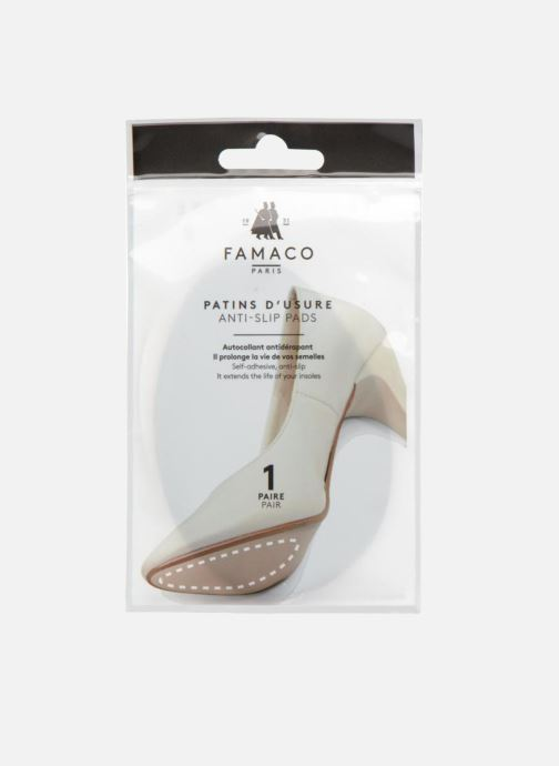 Insoles Famaco Half-size insole-exterior Black view from the right