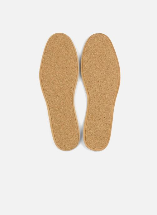 Insoles Famaco Leather and cork insole for men Beige front view