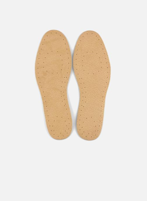 Insoles Famaco Leather and cork insole for men Beige detailed view/ Pair view