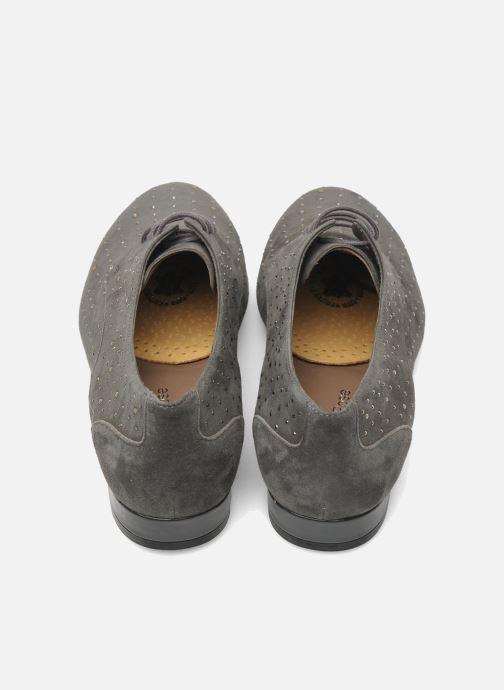Zolen Famaco Mini zooltjes van leer & latex voor damesschoenen Beige links