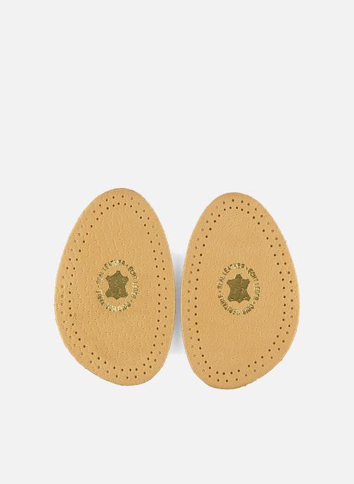Zolen Famaco Mini zooltjes van leer & latex voor damesschoenen Beige detail