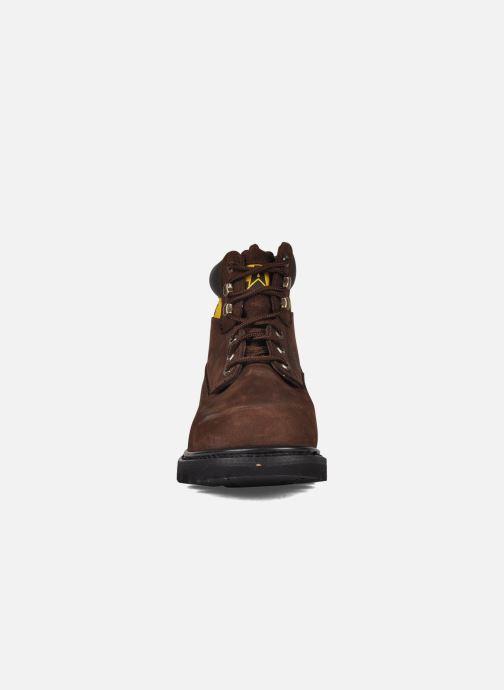 Bottines et boots Caterpillar Colorado Colorado Marron vue portées chaussures