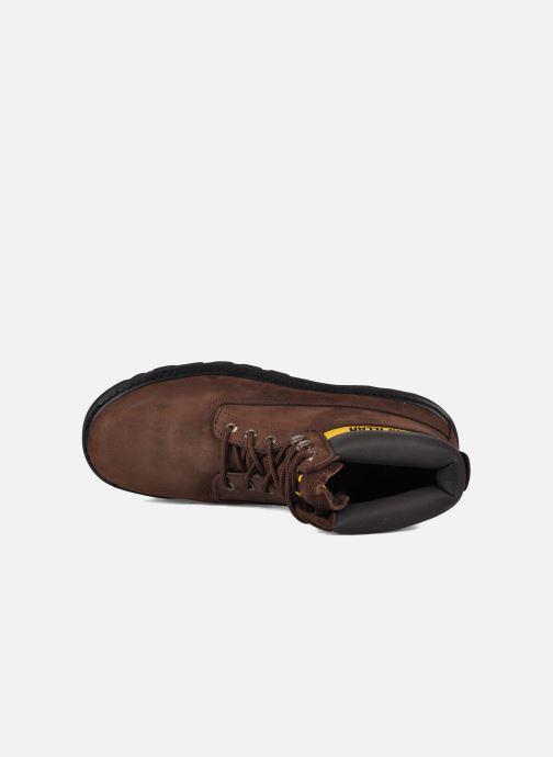Boots en enkellaarsjes Caterpillar Colorado Bruin links