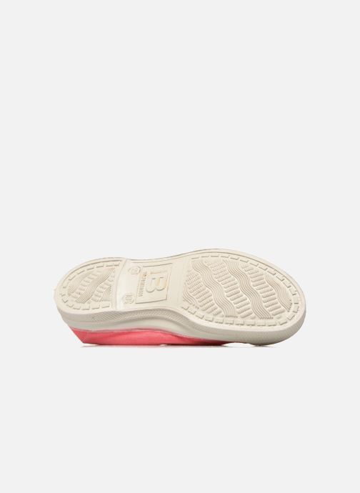 Ballet pumps Bensimon Tennis Elastique E Pink view from above