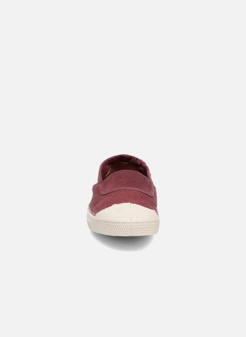 Ballet pumps Bensimon Tennis Elastique E Red model view