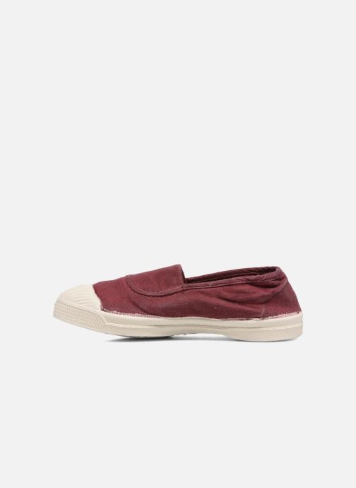 Ballet pumps Bensimon Tennis Elastique E Red front view