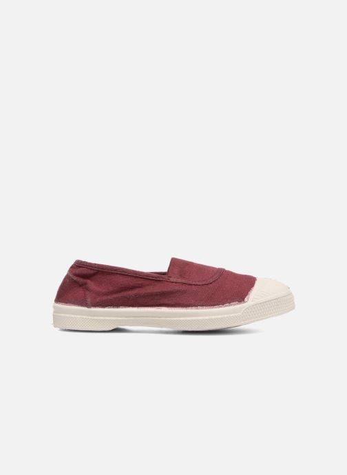 Ballet pumps Bensimon Tennis Elastique E Red back view