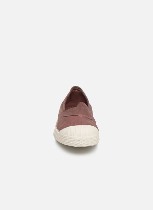 Ballet pumps Bensimon Tennis Elastique E Pink model view