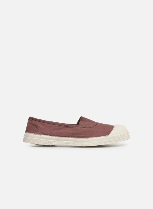 Ballet pumps Bensimon Tennis Elastique E Pink back view