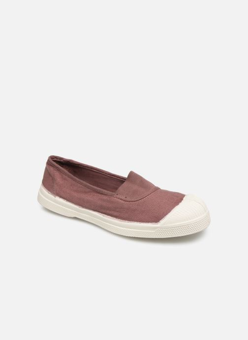 Ballet pumps Bensimon Tennis Elastique E Pink detailed view/ Pair view